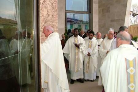 Decennale della chiesa della Trasfigurazione