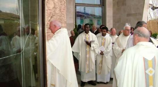 Sette anni fa l'inaugurazione della chiesa della Trasfigurazione