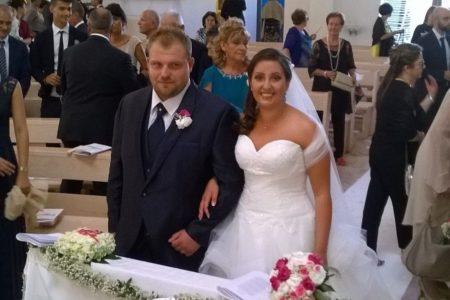 Elena e Marco sposi