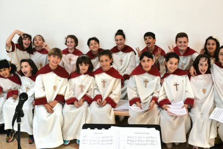 Sabato 19: i Pueri cantano santa Cecilia