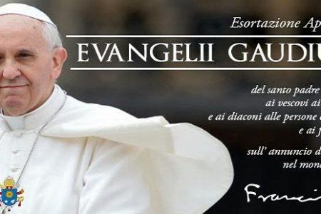 15 e 29 marzo: riflettere sull'Evangelii Gaudium