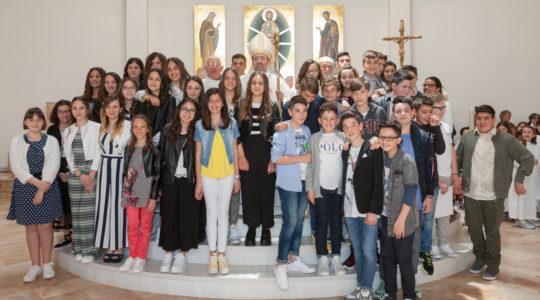 38 ragazzi confermati nella fede