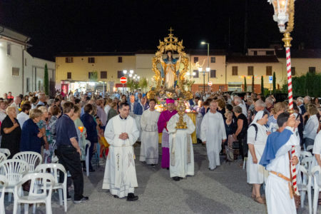 La processione dell'Assunta