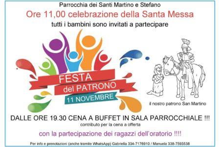11 novembre: festa di san Martino