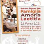 Apertura diocesana Anno Famiglia Amoris Laetitia