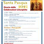 Calendario della settimana Santa  dalla domenica delle palme