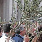 SETTIMANA SANTA  Celebrazione della Domenica delle Palme, 28 Marzo.